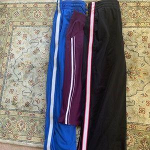 Bundle of 3 athletic exercise yoga pants